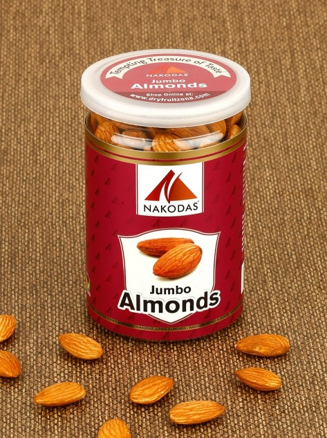 Almonds (Jumbo) 200gm Jar