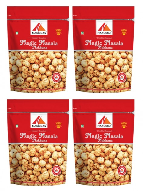 buy roasted nuts and magic masala makhana online