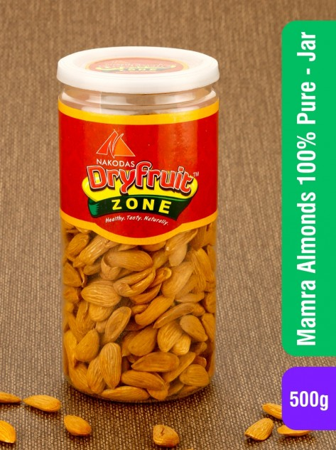 Mamra Almonds 100% Pure(Jar) 500g