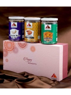 Deluxe Celebration Pack (Almonds, Cashews, Raisin)