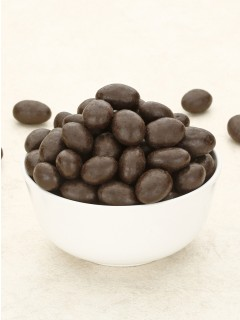 Dark Chocolate Almonds 125g.