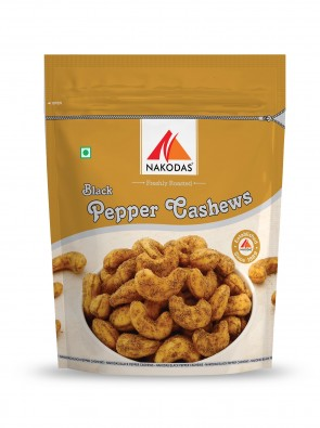 Black Pepper Cashews 200g