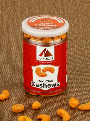 Red Chili Cashews 200g Jar