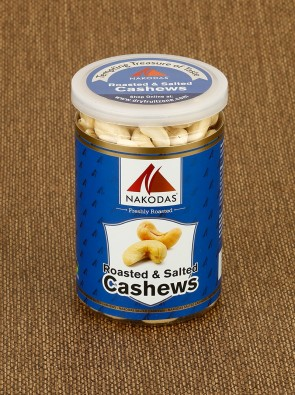 Roasted & Salted Cashews 200g Jar