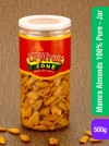 Mamra Almonds 100% Pure(Jar) 400g